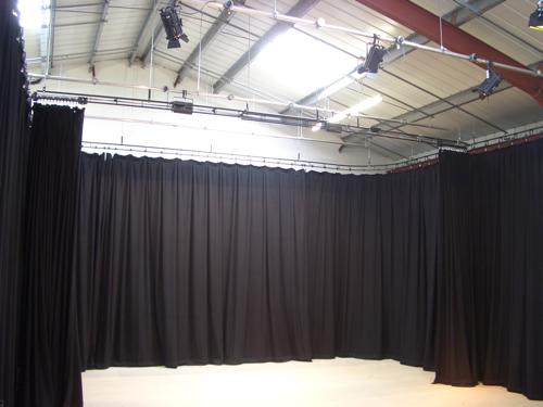 Cámaras negras para teatros y escenarios